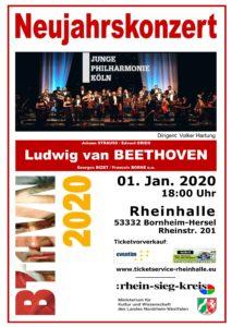 Neujahrskonzert @ Rheinhalle Hersel
