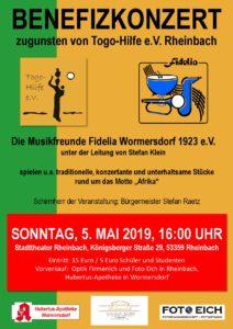 Benefizkonzert der Musikfreunde Fidelia Wormersdorf @ Stadtheater