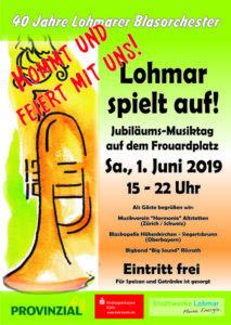 Großes Musikfest in Lohmar @ Frouardplatz